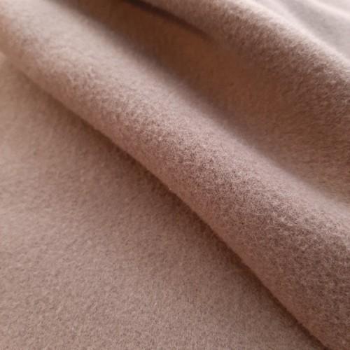Tissu lainage camel (par 10cm)